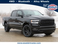 New, 2021 Ram 1500 Big Horn, Black, D21D49-1