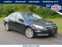 Used, 2011 Honda Accord Sedan, Black, 19K290A-1