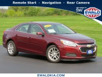 Used, 2015 Chevrolet Malibu LT, Red, KP2105-1