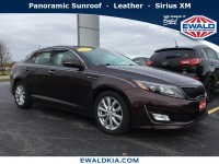 Certified, 2015 Kia Optima EX, Red, KN1647-1