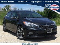 Certified, 2016 Kia Forte 5-Door EX, Black, KN1813A-1