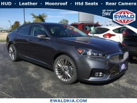 New, 2018 Kia Cadenza Limited, Gray, 18K290-1