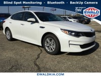New, 2018 Kia Optima LX, White, 18K306-1