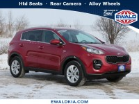 Used, 2018 Kia Sportage LX, Red, 21K216A-1