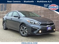 New, 2019 Kia Forte LXS, Gray, 19K277-1