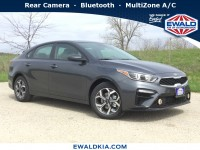 New, 2019 Kia Forte LXS, Gray, 19K287-1