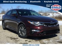 New, 2019 Kia Optima LX, Purple, 19K238-1