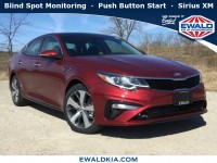 New, 2019 Kia Optima S, Red, 19K250-1