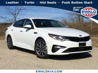 New, 2019 Kia Optima EX, White, 19K252-1