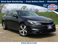New, 2019 Kia Optima S, Black, 19K293-1