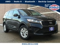 New, 2019 Kia Sorento LX, Black, 19K194-1