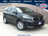 New, 2019 Kia Sorento LX, Black, 19K290-1