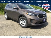New, 2019 Kia Sorento LX V6, Brown, 19K36-1