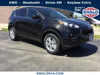New, 2019 Kia Sportage LX, Black, 19K46-1