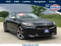 New, 2019 Kia Stinger GT2, Black, 19K266-1