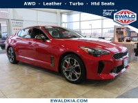 New, 2019 Kia Stinger GT, Red, 19K366-1