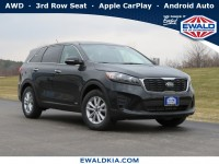 New, 2020 Kia Sorento LX, Black, 20K335-1