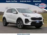 New, 2020 Kia Sportage LX, White, 20K312-1