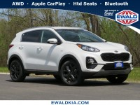 New, 2020 Kia Sportage S, White, 20K358-1