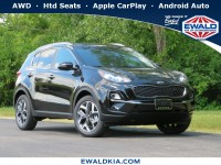 New, 2020 Kia Sportage EX, Black, 20K374-1