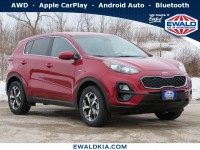 New, 2021 Kia Sportage LX, Red, 21K224-1