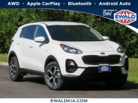 New, 2021 Kia Sportage LX, White, 21K31-1