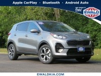 New, 2021 Kia Sportage LX, Gray, 21K33-1