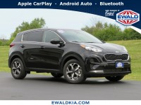 New, 2021 Kia Sportage LX, Black, 21K34-1