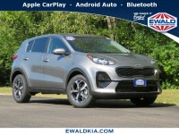 New, 2021 Kia Sportage LX, Gray, 21K35-1