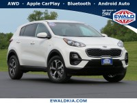 New, 2021 Kia Sportage LX, White, 21K40-1