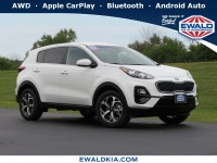 New, 2021 Kia Sportage LX, White, 21K44-1