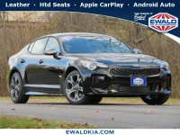 New, 2021 Kia Stinger GT-Line, Black, 21K136-1
