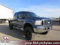 Used, 2007 Ford Super Duty F-250 Lariat, Blue, 15610A-1