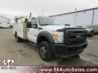 Used, 2012 Ford Super Duty F-550 DRW Chassis C XL, White, 15975-1