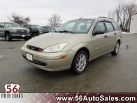 Used, 2002 Ford Focus SE Base, Gold, 14602-1