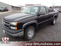 Used, 2006 Chevrolet Silverado 1500 Work Truck, Black, 14556-1