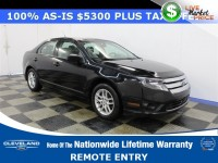 Used, 2012 Ford Fusion 4-door Sedan S FWD, Black, P13070A-1