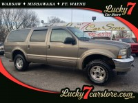 Used, 2002 Ford Excursion Limited, Gold, F366-1