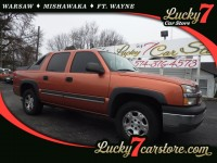 Used, 2004 Chevrolet Avalanche Z66 RWD, Orange, M864-1