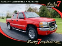 Used, 2004 GMC Sierra 1500 Crew Cab SLT, Red, P2610-1