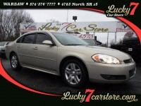 Used, 2011 Chevrolet Impala 4dr Sdn LT Fleet FWD, Gold, P1898-1