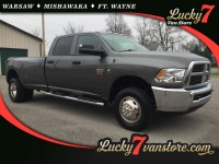 Used, 2012 Dodge Ram 3500 SLT, Gray, F86-1