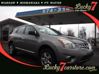 Used, 2013 Nissan Rogue AWD 4dr S, Silver, M1041-1