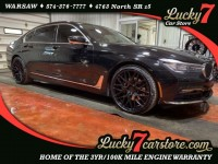 Used, 2016 BMW 7 Series 740i, Black, W526-1