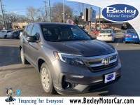 Used, 2019 Honda Pilot LX, Gray, BT5474-1