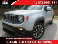 Used, 2015 Jeep Renegade Latitude, Silver, 11351-1