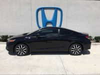 Certified, 2015 Honda Civic Coupe EX-L, Black, PS5624-1