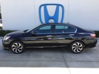 Used, 2016 Honda Accord Sedan EX-L, Black, H38662A-1