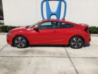 Used, 2016 Honda Civic Coupe EX-L, Red, H38116A-1