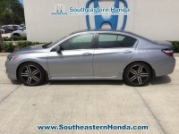 Used, 2017 Honda Accord Sport, Silver, H38819A-1